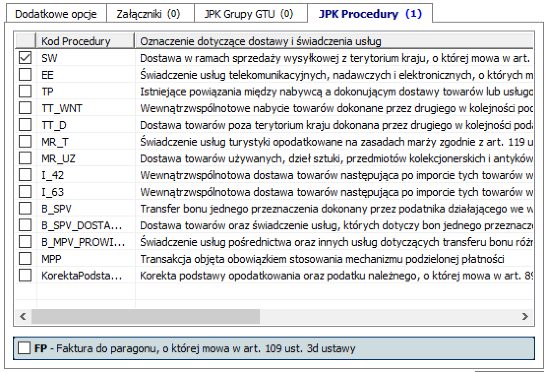 procedury JPK